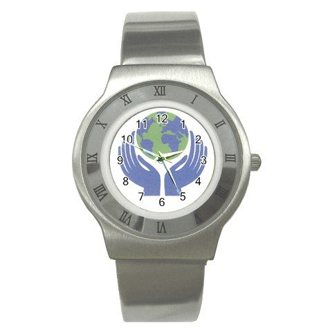 EARTH DAY Men's Stainless Steel Watch 14431892