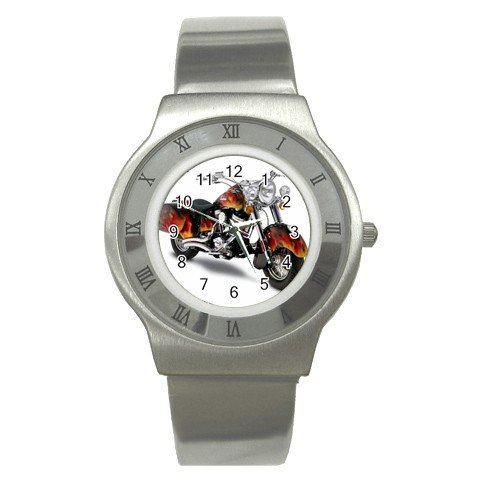INDIAN CHIEF ROADSTER MOTORCYCLE Men's Stainless Steel Watch 14469683