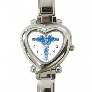MEDICAL SYMBOL Wrist Watch Italian Charm Heart Shape Jewelry 17392920