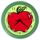 COLORFUL APPLE Wall Clock, Home Decor, Bar Clock, Kitchen Clock, Gift Time 26618930
