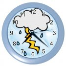 LIGHTENING Design Wall Clock Home Decor Office Gift Time 26619117