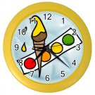 PAINT ART Print Wall Clock, Home Decor Gift Time 26619133