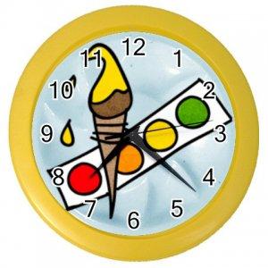 PAINT ART Print Wall Clock, Home Decor Gift Time 26619133
