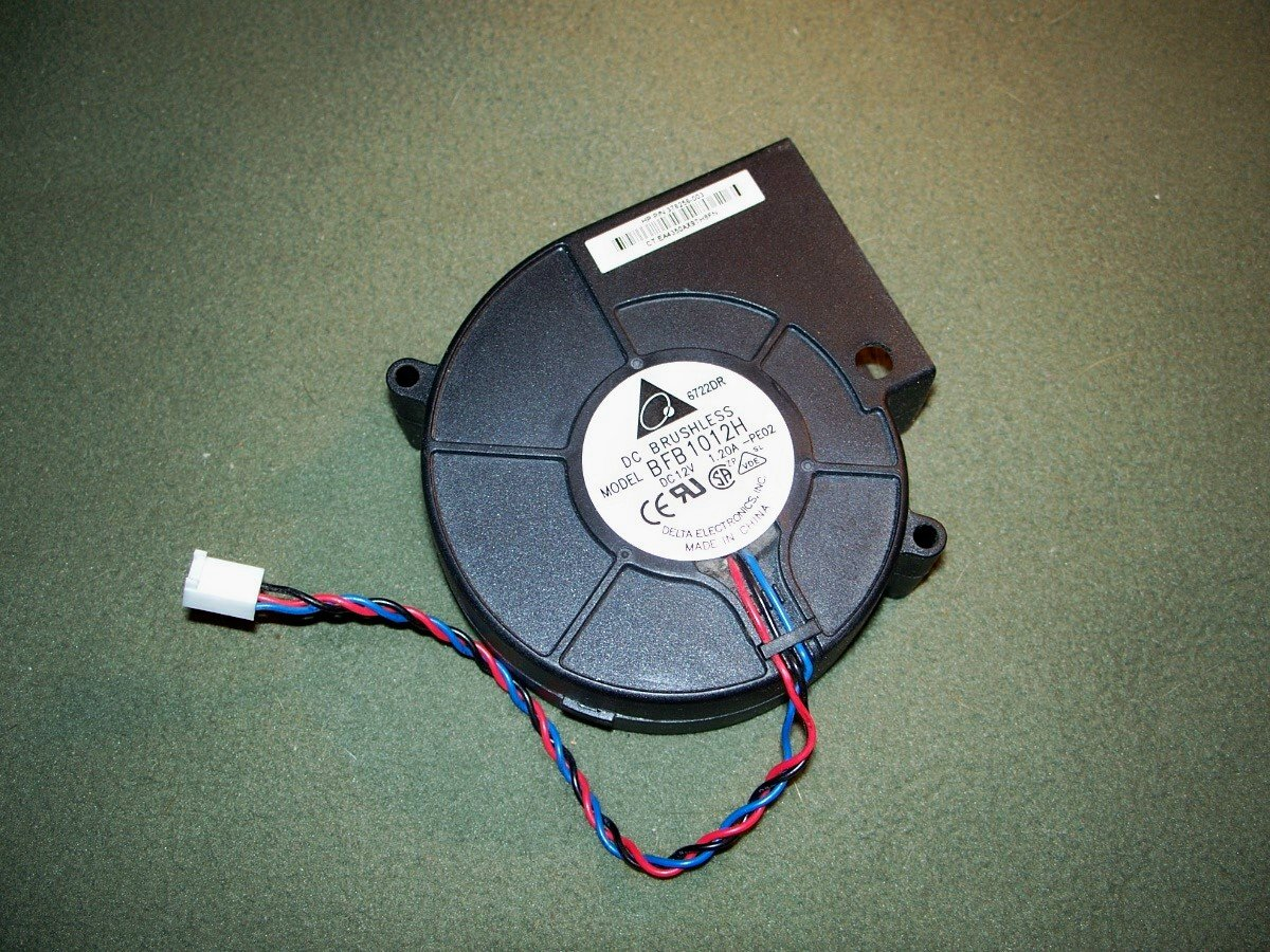 DELTA SYSTEM COOLING BLOWER FAN BALL BEARING BFB1012H DC 12V 1.20A