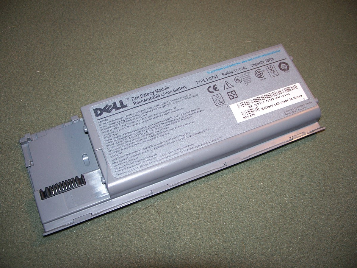DELL DQ-PC764 6 Cell Extended High Capacity Battery for Dell