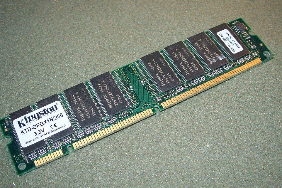 KINGSTON 256mb KTD-OPGX1N/256 3.3V Memory Stick Module