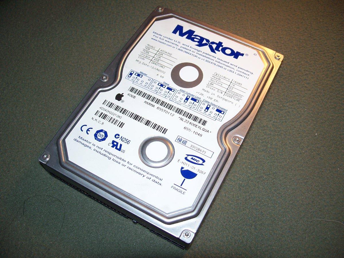 Maxtor DiamondMax D540X 40GB UDMA/100 5400RPM 2MB IDE Hard Drive