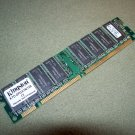 Kingston KTD OPGX1N 128 128MB SDRAM Non parity 168 pin DIMM