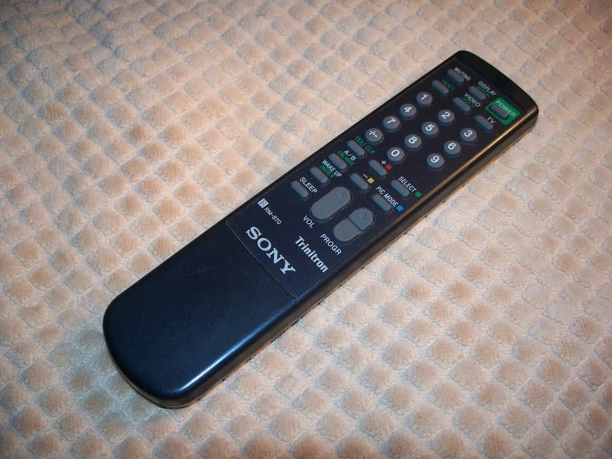 Sony Rm 870 Trinitron Tv Remote Control Part Number