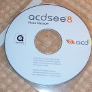 Acd Systems ACDSee 8 Photo Manager SOFTWARE NEW
