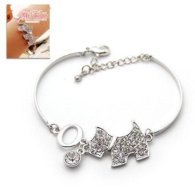 Diamond Doggie Bracelet