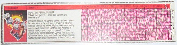 1987 Strafe tech spec