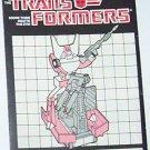 1986 Rodimus Prime instruction booklet