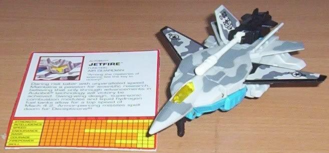 1995 G2 Cyberjet Autobot Jetfire