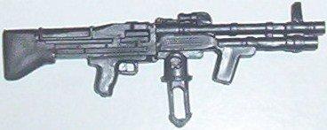 Rambo, machine gun from Defender 6X6