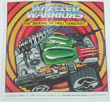 """Wheeled Warriors manual from """"Drill Sergeant"""""""