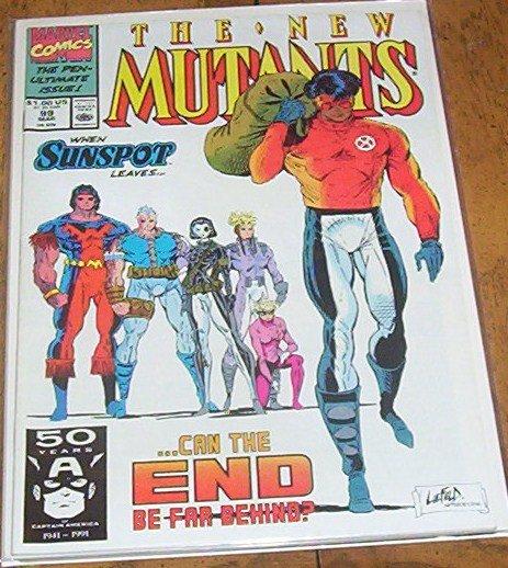 New Mutants # 99