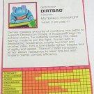 1995 Dirtbag tech spec