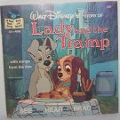 1979 Lady and the Tramp book & record #307