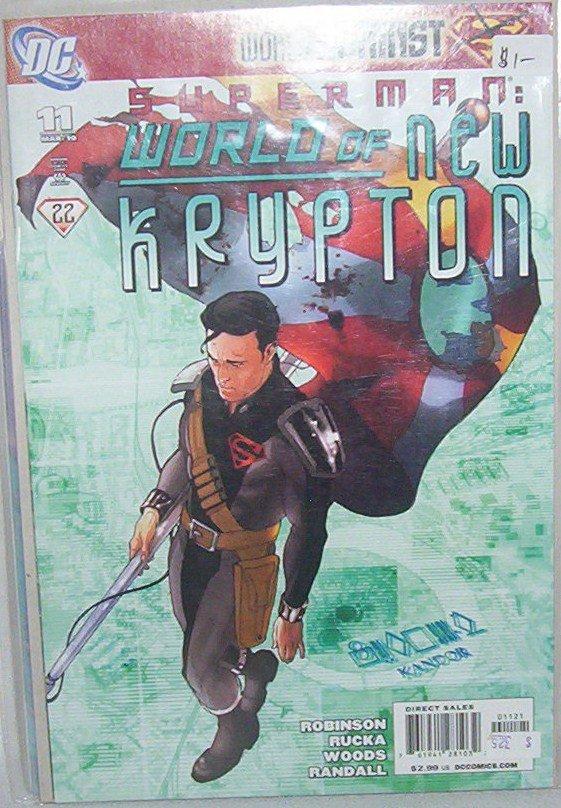 Superman: World of new Krypton # 11
