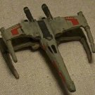 Micro Machine damaged X-wing fighter