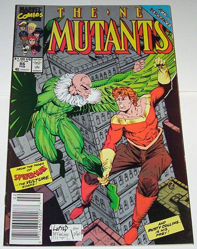 New Mutants # 86