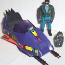 M.A.S.K. Sly Rax with Stiletto mask and Piranha sub/sidecar