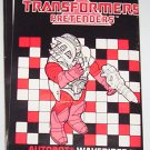 1988 Waverider instruction booklet