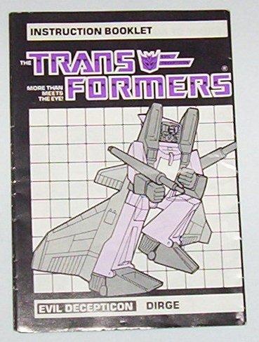 1985 Dirge instruction booklet