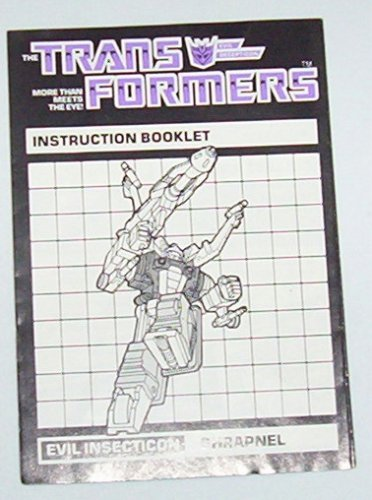 1985 Shrapnel instruction booklet