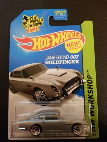 James Bond's 1963 Aston Martin DB5 by Hot Wheels 200/250