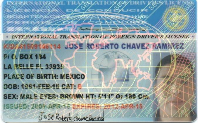 International Drivers License