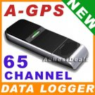 NEW 65 CHANNEL DATA LOGGER FUNCTION USB GPS RECEIVER A-GPS