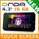 "16G 4.3"" ONDA VX787 TOUCH LCD CAR FM MP3 MP4 MP5 PLAYER"