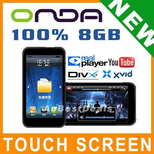 "8GB 3"" ONDA VX787 TOUCH LCD CAR FM MP3 MP4 MP5 PLAYER"