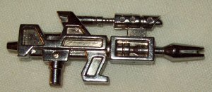 Hasbro Transformers G1 Jumpstarter Topspin rifle