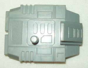 Hasbro Transformers G1 Combaticon Onslaught Bruticus gray left foot