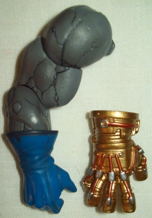 """Mattel DC Universe Classics wave 12 Darkseid """"Collect-And-Connect"""" right arm"""