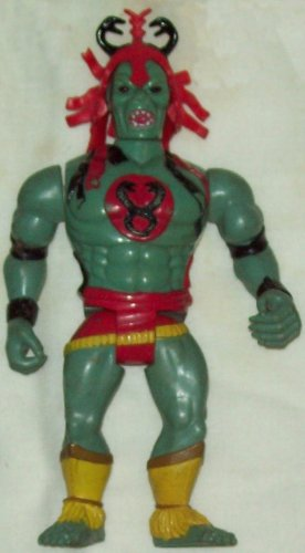 LJN Thundercats Mumm-Ra (transformed) figure and acc.