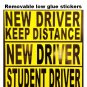 NEW DRIVER magnet sticker for student driver no glue