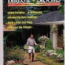 Birds Blooms June/July 1998 Barn Swallows Minnesota