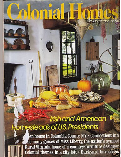 Colonial Homes July/August 1986 Columbia County NY