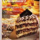 Chocolatier Magazine June 1995 Chocolate Espresso Cake