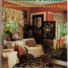 Colonial Homes October 1987 Ipswich Mass American Glass