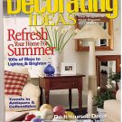 Country Sampler's Decorating Ideas August 2000 Magazine