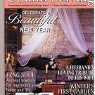 Country Living January 1997 Feng Shui Magazine