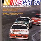 Nascar Yearbook Press Guide 93 Winston Cup Championship
