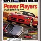 Car and Driver Magazine November 2002 Maserati Coupe