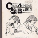 Chess Annual One 1981/2 Players Chess News