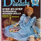 Doll Designs Magazine Wooden Dolls Yarn Wigs May 1992